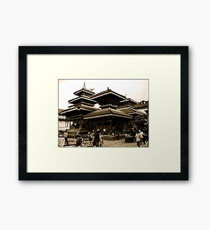 Evoked in History Framed Print