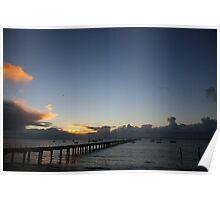 straight up. flinders winter sunrise Poster