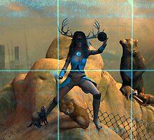 Cyber-Shaman by MichelleIacona