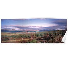 Strathtay in Autumn Poster