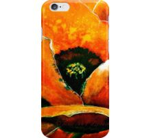 The Poppy Journals...Red... iPhone Case/Skin