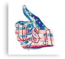 USA - Thumbs Up Canvas Print