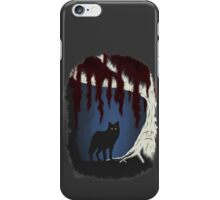 The wolf and the weirwood iPhone Case/Skin