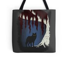 The wolf and the weirwood Tote Bag