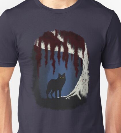 The wolf and the weirwood Unisex T-Shirt