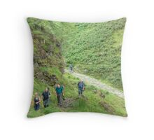 Our Day Out 3 (..The start of the ascent) Throw Pillow
