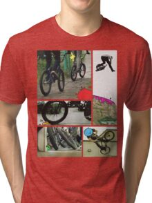 bmx to the max for life Tri-blend T-Shirt