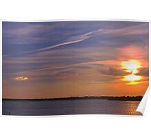 Sundog  Sunset Poster