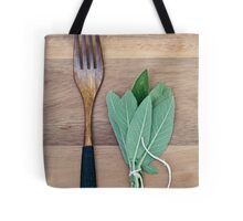 Fork and Sage Tote Bag