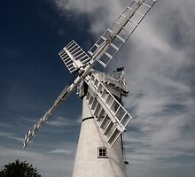 Thurne Mill, Norfolk, United Kingdom by Ursula Rodgers