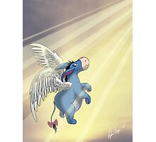 Angel Eeyore Photographic Print
