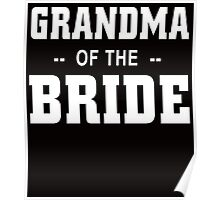 grandma of the bride Poster
