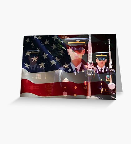 Changing of The Guards Greeting Card