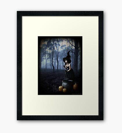 Hocus Pocus Framed Print