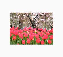 Colorful Spring Tulips, New York City T-Shirt