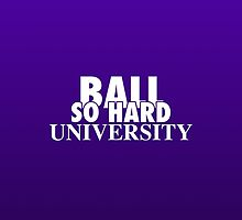 Ball So Hard University Purple by TurnerCreations