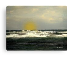 Soft Spring Sundown Canvas Print