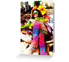 PSYCHEDELIC STYLE // Rainbow Serpent Festival 2003 Greeting Card