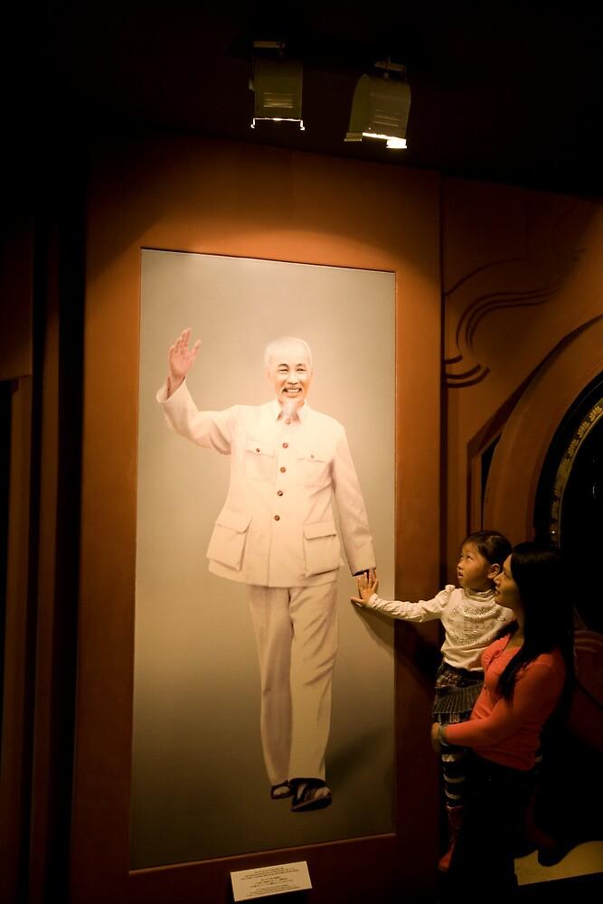 Uncle Ho by John Marx