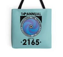 The Time Traveler's Conference 2165 Tote Bag