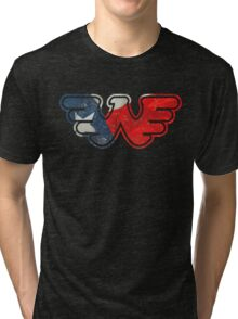 Texas Flying W Tri-blend T-Shirt