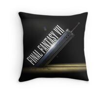 Buster Sword Throw Pillow