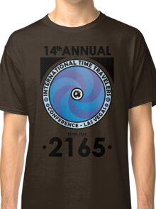 The Time Traveler's Conference 2165 Classic T-Shirt