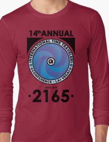 The Time Traveler's Conference 2165 Long Sleeve T-Shirt