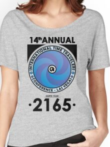The Time Traveler's Conference 2165 Women's Relaxed Fit T-Shirt