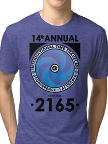 The Time Traveler's Conference 2165 Tri-blend T-Shirt
