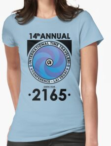 The Time Traveler's Conference 2165 Womens Fitted T-Shirt