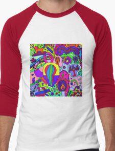Abstract 25 Men's Baseball ¾ T-Shirt