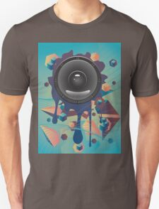 Abstract Audio Speaker T-Shirt