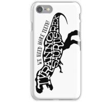 Stencil: Tyrannosaurus Rex iPhone Case/Skin