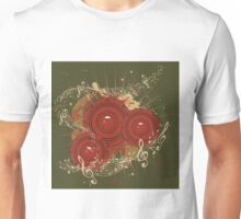 Music Poster with Audio Speaker Unisex T-Shirt