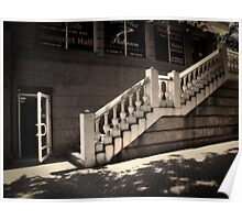 Staircase. Poster