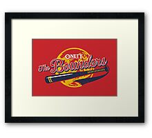 The Bounders Framed Print