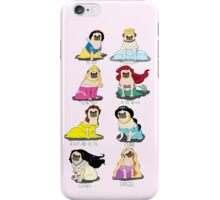 Pug Princesses iPhone Case/Skin