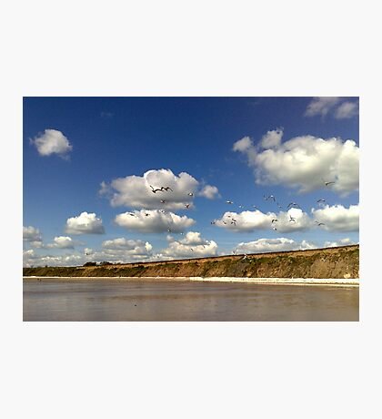 Bridlington North Beach Photographic Print