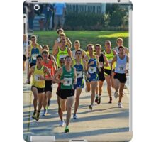 Great Cow Harbor 10-Kilometer Run iPad Case/Skin