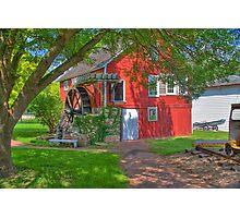 Krug Village Grist Mill Photographic Print