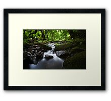 Somewhere in Exmoor... Framed Print
