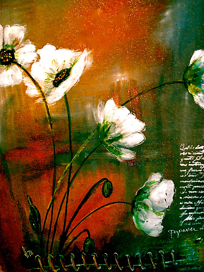 The Poppy Journals...Gold Dust by © Janis Zroback