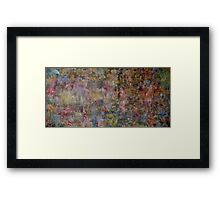 In a bumble-bee`s world Framed Print