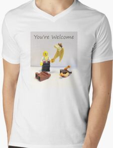 You're welcome Mens V-Neck T-Shirt