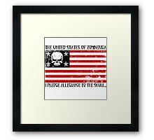 United States of Zomberica Framed Print