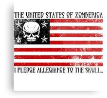 United States of Zomberica Metal Print