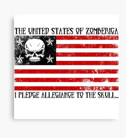 United States of Zomberica Canvas Print
