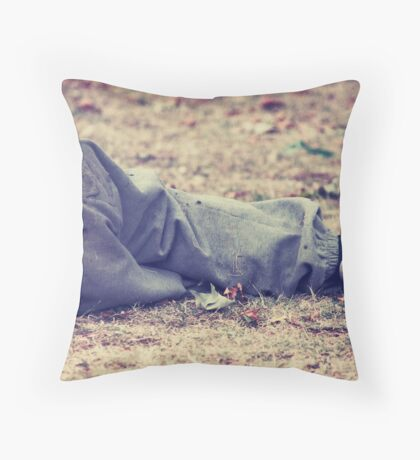 down, but not out (no: 14) Throw Pillow