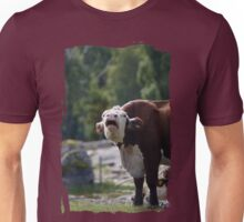 grumpy cow talk Unisex T-Shirt